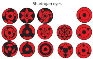 sharingan eyes 1111 by sporeman2