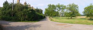 Hainult Forrest Country Park Panoramic by StevenARTify
