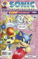 Sonic the Hedgehog #263 Chao Variant cover by dth1971