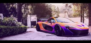 McLaren P1 by SkicaDesign