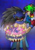 B-Day Giftart for SystemLink by Psychograve