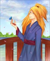 Deidara loves the nature by IStealYourCookiesx3