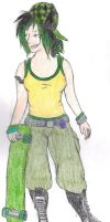 Redrawn: Modern Toph by blizzardstar33