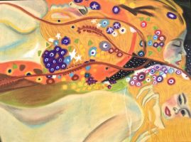 Ode to Klimt by VampyreCupcake