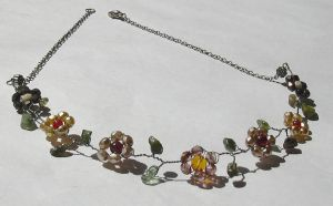 Flora Necklace by manson-brown
