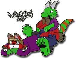 Surprised Noms by Marquis2007