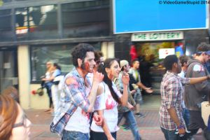 Boston Zombie March 2014 - Zombie March 10 by VideoGameStupid