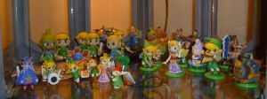 Toon-Style Zelda Figurines 1 by Linksliltri4ce