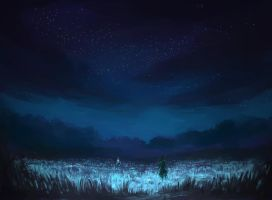Lostchildren Scene: Field by aibezt