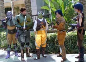 Star Wars Rebels at Star Wars Celebration 2015 by trivto