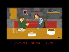 I Never Drink Wine -finished- by BlackMage1234