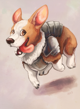 Corgi by ANicB