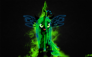 Queen Chrysalis Wallpaper by arkkukakku112