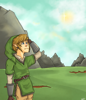 Skyward Sword by honeysips