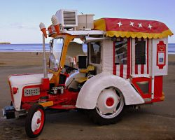 Ice Cream Tractor by Refract