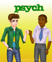 Psych by Chrisily
