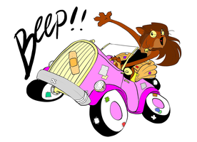 Beep! by Aduah by Letrune