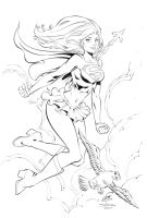 Supergirl WWC by MarkStegbauer