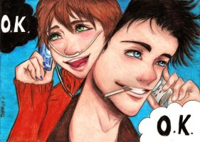 The fault in our stars by DeskaChan