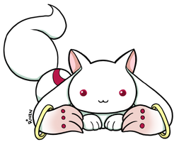 Kyubey by ladyriven