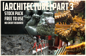 Chinese Architecture: Stock Pack 3 by Blackpassion777