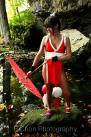 Mai Shiranui by GinaBCosplay