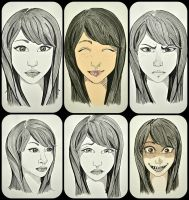 Expressions by Mitsuko222