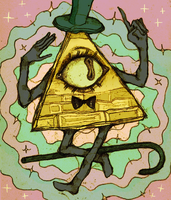 Bill Cipher by Mebuu