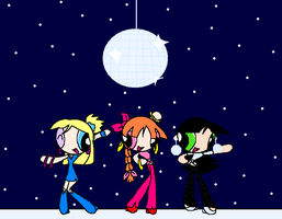 Disco Clubbing: PPGTeens by Cruzerchic123