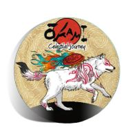 Okami Celestial Journey Disc Art by BellaLunaWolf