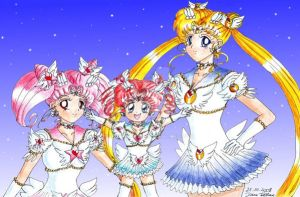 Sailor Princess Moonies by KittyRyou
