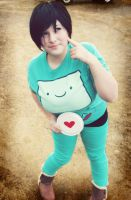 BMO , I know what love is! by sakina101