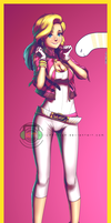 Eel gijinka: Wendy by dCTb