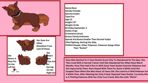 Rose The Vulpix Ref by GrowlitheArtistGirl
