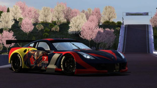 Chevrolet Corvette C7R Matoi Ryuuko (No Sponsors) by BLACKR0CKSHUTA
