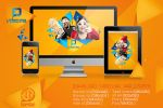 Video.ma Wallpapers by Hamdan-Graphics