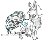 Wind Kitsune Adopt (closed) by SuperHomelessAdopts