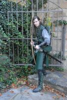 Michael, Elven Archer 05 by LinzStock