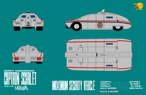 Gerry Andersons Captain Scarlet Maximum Security V by ArthurTwosheds