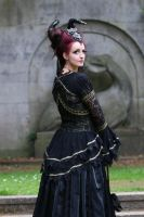 Stock - Faun gothic look shoulder romantic by S-T-A-R-gazer