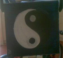 My ying and yang paintings by Fire-Z