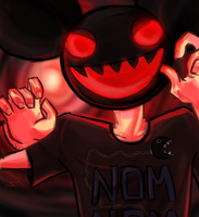 Deadmau5 EATS YOUR FACE by Ryu-gemini