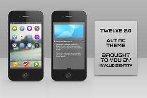 Twelve 2.0 alternative NotificationCenter theme by KillingTheEngine
