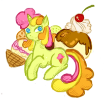 Doodle - Sweetcream Scoops by tinuleaf