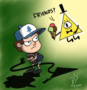 Let's be friends, kid! by FilPaperSoul