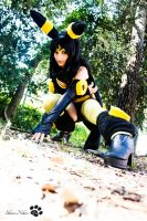 Pokemon Cosplay - Umbreon (Female Version) by ShiroiNekosArt