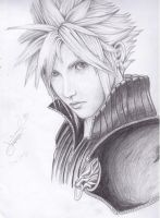 cloud strife by mel0018