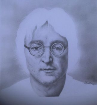 Faces Of The Past - John Lennon by CarbonData