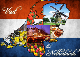 Netherlands Postcard by sol0dolo