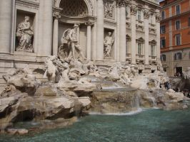 Trevi Fountain by 5tring3r